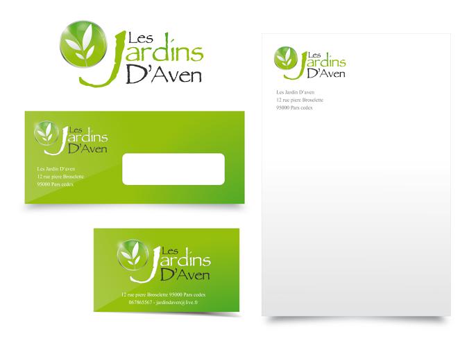 Charte graphique Jardin d'Aven
