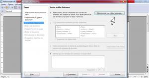 Faire un publipostage avec OpenOffice 5/12