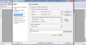 Faire un publipostage avec OpenOffice 8/12