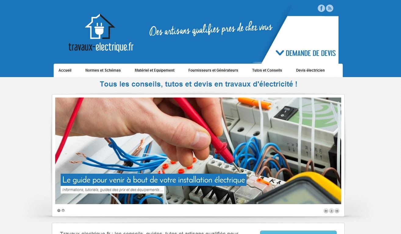 Travaux electrique